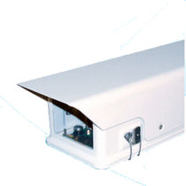 Surveillance camera protection housing