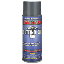 Cutting oil / molybdenum bisulphate / metal / aerosol