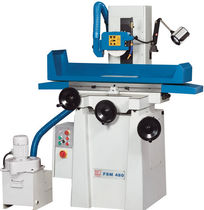 Vertical disc grinding machine / for metal sheets / manually-controlled