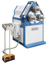 Hydraulic bending machine / manually-operated / profile / horizontal