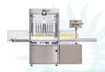 Multi-container filling line / automatic / liquid / for cosmetic products