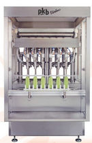 Bottle filling machine / automatic / linear / volumetric