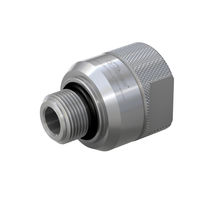Quick coupling / straight / hydraulic / NBR