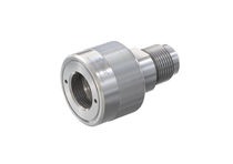 Threaded plug / metal / high-pressure / for quick coupling