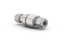 CNG check valve / for fueling stations / for cars / stainless steel
