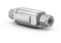 CNG check valve / for fueling stations / for buses / stainless steel