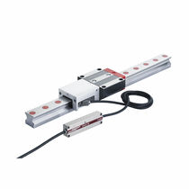 Roller linear guide / with built-in encoders / stainless steel