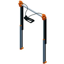 Table height adjustment lifting system / gas spring
