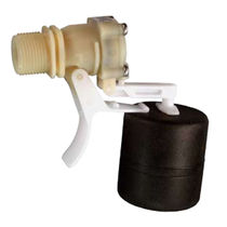 Float valve / servo-driven / level control / for water