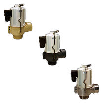 Hot water valve / for potable water / flange / threaded