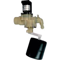 Float valve / servo-driven / level control / for potable water