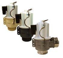 Hot water valve / flange / threaded / stainless steel