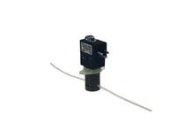 Direct-operated solenoid valve / 2/2-way / water / anodized aluminum