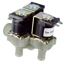 2/2-way solenoid valve / NC / NO / for potable water