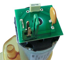 Hot water pump / with DC motor / magnetic-drive / semi-submersible