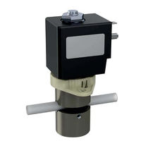 Direct-operated solenoid valve / 2/2-way / NC / water