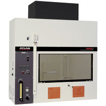 Flammability test cabinet