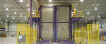 Heat treatment furnace / chamber / hot air impingement / air circulating