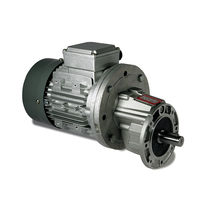 AC electric gearmotor / parallel-shaft / helical / solid-shaft