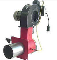 Gas burner / nozzle mix / air heating