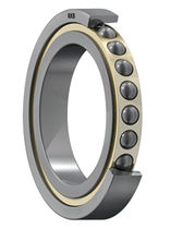 Ball bearing / single-row / angular-contact / axial
