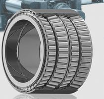Tapered roller bearing / axial / radial / four-row