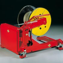 Cable drum unwinder / mobile