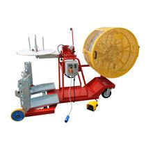 Cable reel / coil-to-coil / drum-to-coil / motorized