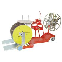 Cable reel / coil-to-coil / drum-to-coil / manual