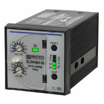 Earth-leakage control relay / panel-mount / DC / three-phase