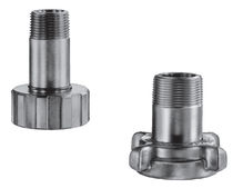 Threaded fitting / straight / hydraulic / pressure reducer