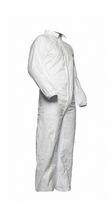 Chemical protection coveralls / anti-static / polyethylene