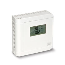 Relative humidity and temperature sensor / wall-mount / for indoor use / digital