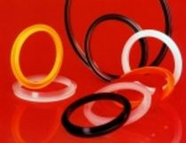 Wiper seal / rectangular / rubber