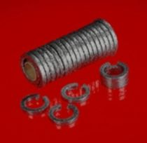 Spiral seal / graphite / for centrifugal pumps / compression