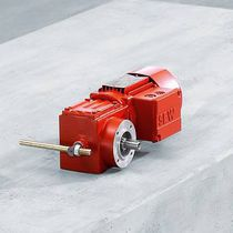 Orthogonal servo-gearmotor / gear train / low-noise / compact