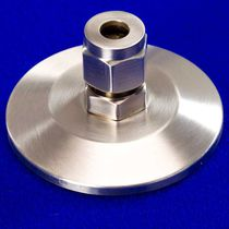 Flange fitting / straight / hydraulic / stainless steel