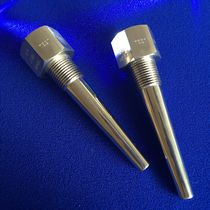 Flange thermowell / threaded / stainless steel / for temperature sensors
