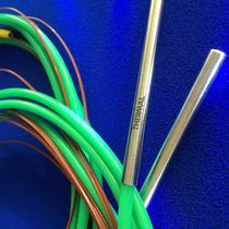 Resistance temperature probe / thermocouple / stainless steel / with thermocouple output