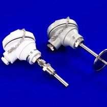 Pt100 temperature sensor / thermocouple / flange / threaded