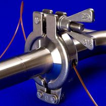Validation thermocouple flange clamp