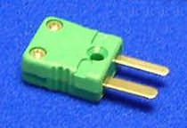 Data connector / flat / for thermocouples
