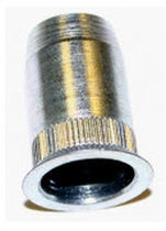 Blind rivet nut / stainless steel / countersunk head