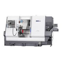 CNC lathe / 3-axis / Y-axis / double-turret