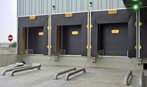 Sectional doors / industrial / for cold storage / hermetically-sealed