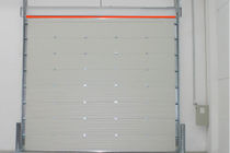 Sectional doors / metal / industrial / exterior