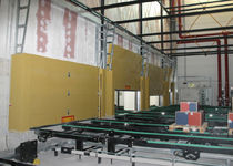 Sectional doors / industrial / indoor / automatic