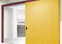 Sliding doors / industrial / indoor / fireproof
