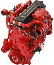 Diesel engine / turbocharged / compact