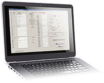 Data acquisition software / scanner